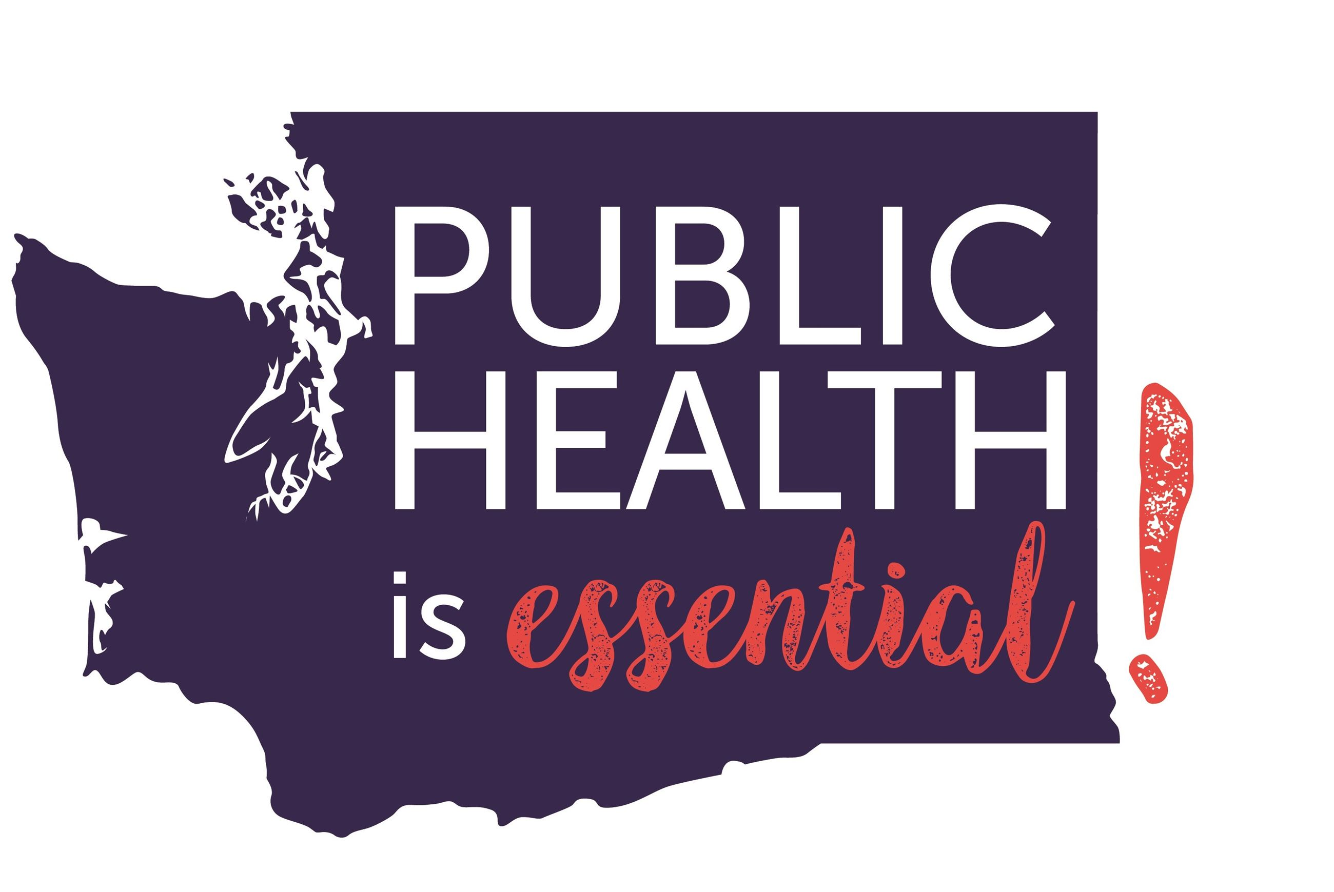 Public Health is Essential Logo