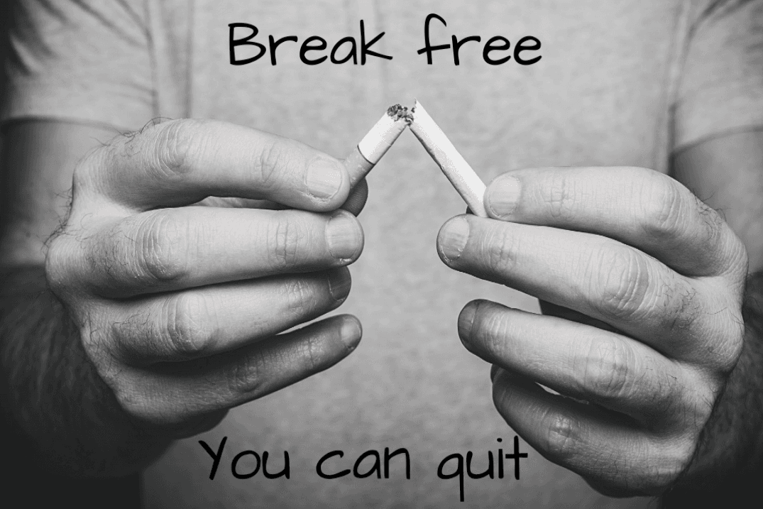 You can quit